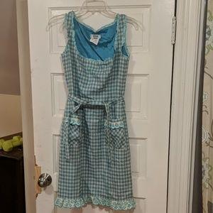 Moschino blue dress